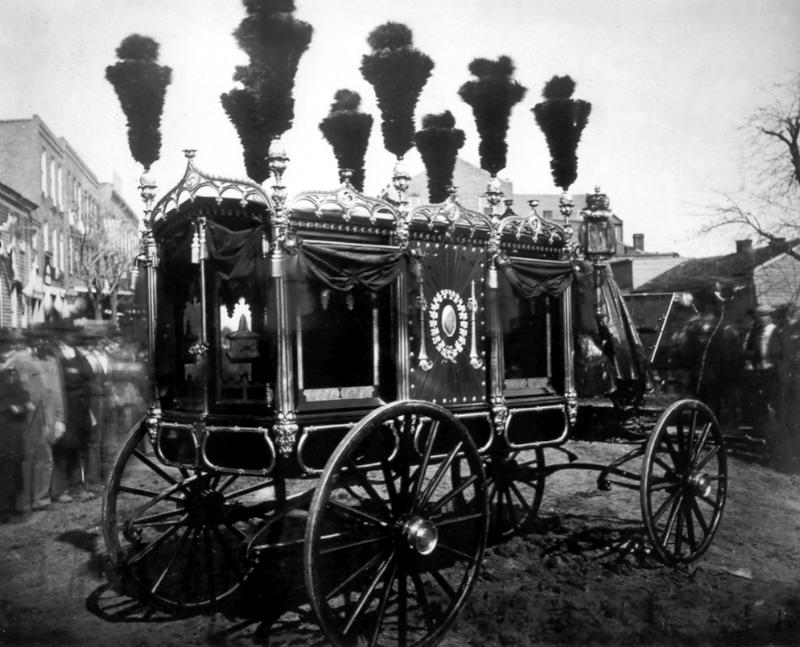 Lincoln Funeral Carriage